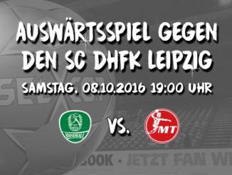 Auswärtsfahrt zum SC DHfK Leipzig 3
